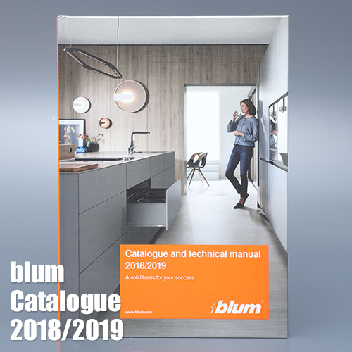 [BLUM] 블룸 종합 카다록 / catalogue and technical manual (영문) 2018 / 2019
