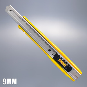 [DEWALT] 디월트 9mm SNAP-OFF칼 / DWHT10037 / Full steel body,강력한 내구성
