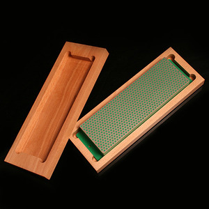 [DMT] 8 inch Diamond Whetstone Shapener with Hardwood Box (입도 옵션선택)