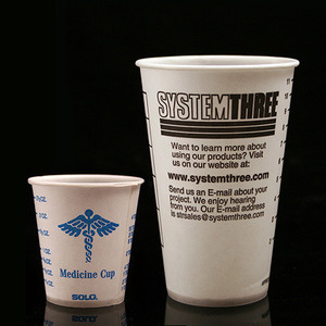 [System Three] 씨스템쓰리 Graduated Paper Cups 10ea (옵션선택)